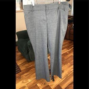 NY & Co gray dress pant size 18 Tall
